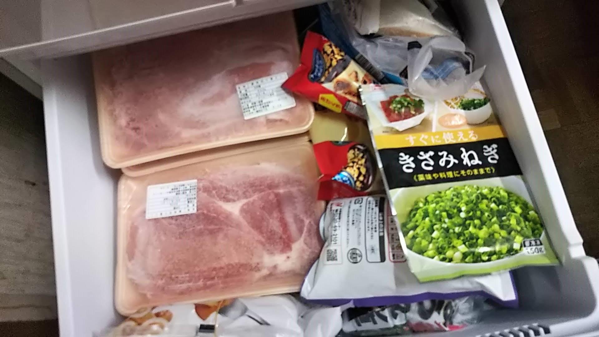 ふるさと納税で普段使いにと豚肉切落とし400g×10パックが届いた